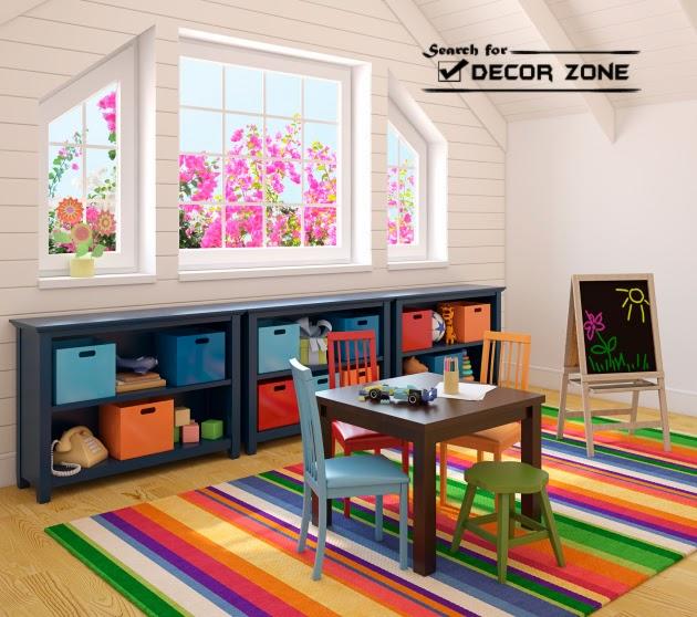 Bedroom Storage Shelves #16: Neutral Shelves As Bedroom Storage Solutions