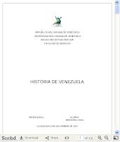 Historia DEL SAQUEO EN Venezuela