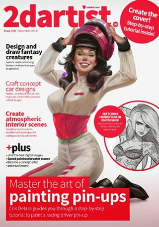2D Artist Magazine Issue 108 December 2014