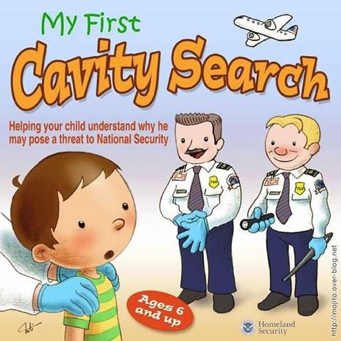 TSA Cavity Search