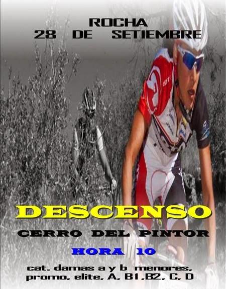 MTB. Descenso del Cerro del pintor (Rocha, 28/sep/2014)