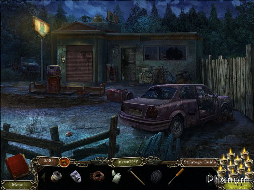 Cursed Memories: The Secret of Agony Creek Collector's Edition - Abandoned town