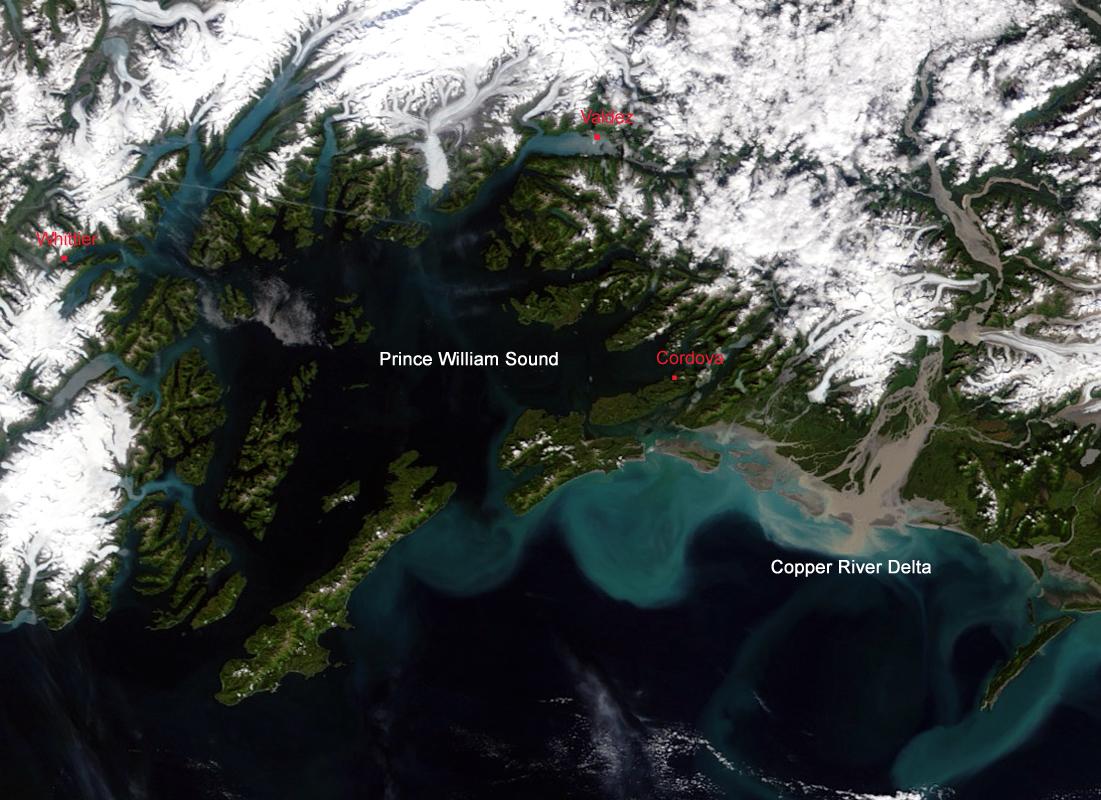Northwest Explorer Prince William Sound 1999
