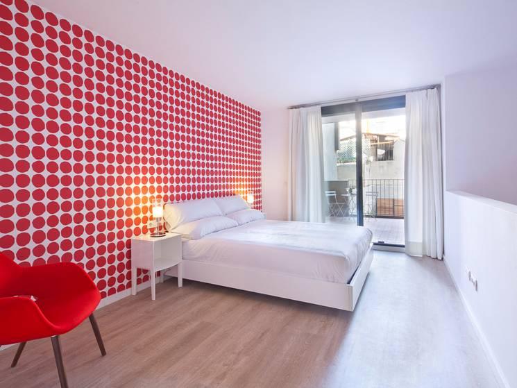 Papeles pintados aribau nuevo aparthotel gir80 en barcelona - Papeles pintados barcelona ...