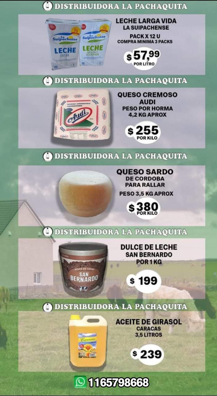"Distribuidora ""La Pachaquita"""