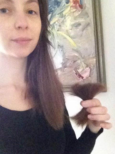 klippe eget hår