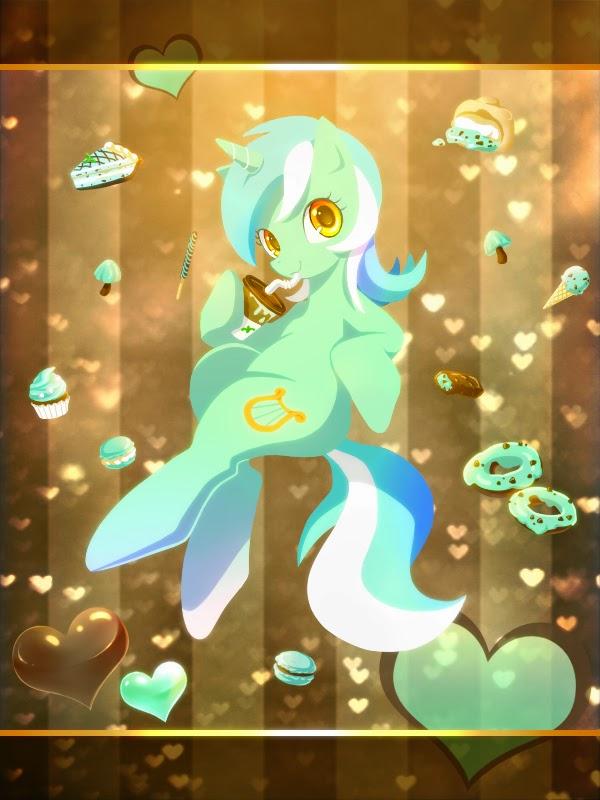 Chocolate Mint Lyra
