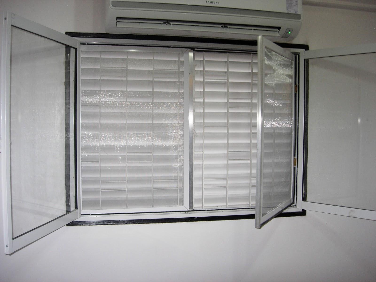 Via dise o carpinter a de aluminio reemplazo de ventana for Mosquiteros de aluminio