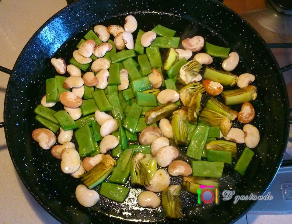 Sofreímos las verduras hasta que se ablanden