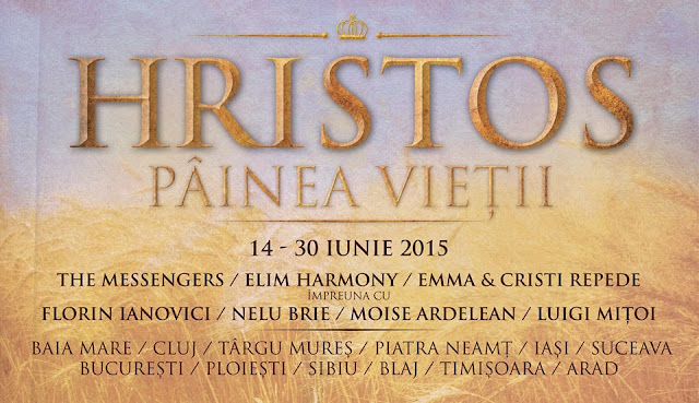 """Turneu """"Hristos Painea Vietii"""" in Parcul Rozelor din Timisoara - 27 iunie 2015"""