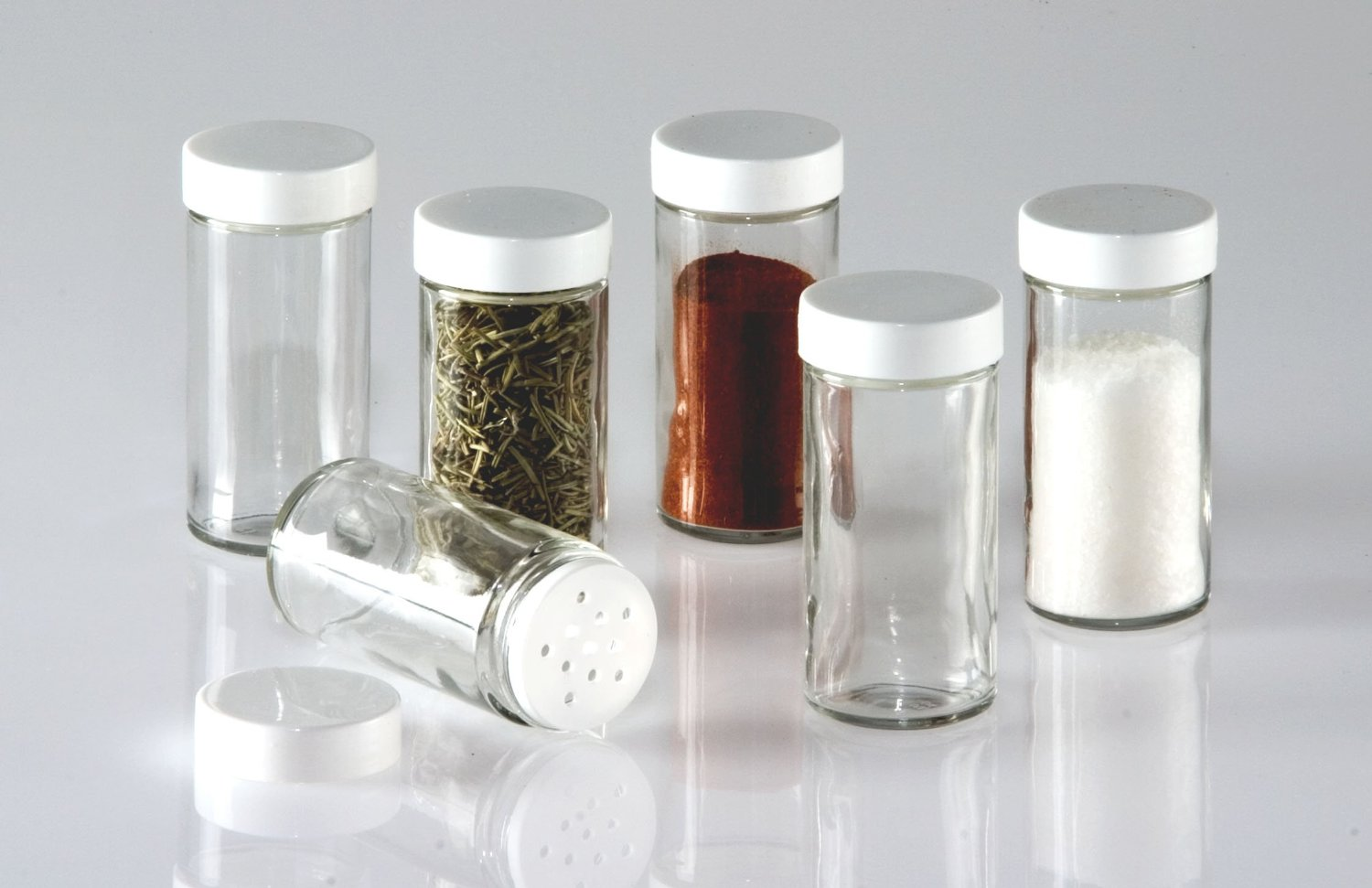 Oz Glass Spice Jars