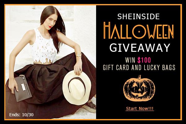 Konkurs sheinside wygraj $100