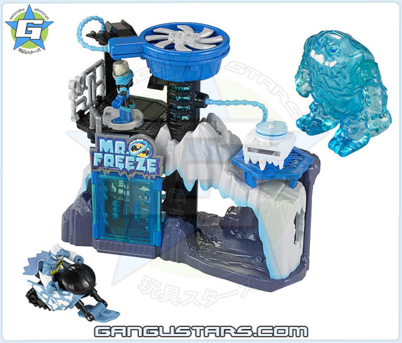 Imaginext DC Super Friends  Mr. Freeze Headquarters Gift Set