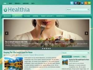 Healthia - Free Wordpress Theme