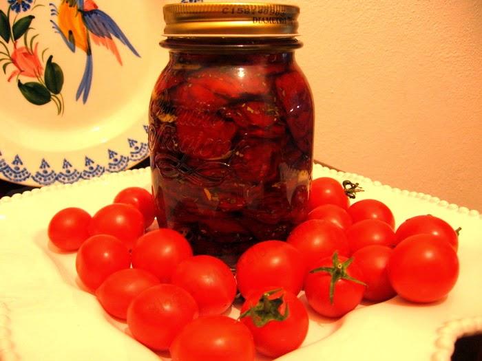 pomodori secchi sott'olio - essiccati al sole