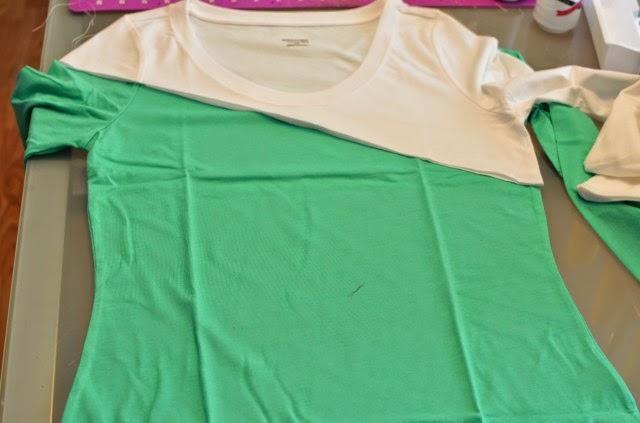 Diy ideas f ciles con prendas b sicas de rebajas yo elijo coser - Decorar camisetas basicas ...