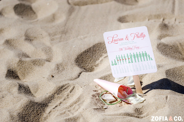 Nantucket Beach Wedding Paper