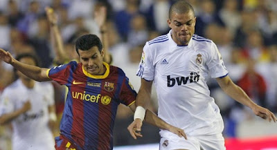 real madrid barcelona pepe pedro