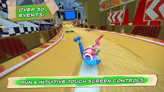 صورة من داخل لعبة Turbo Racing League