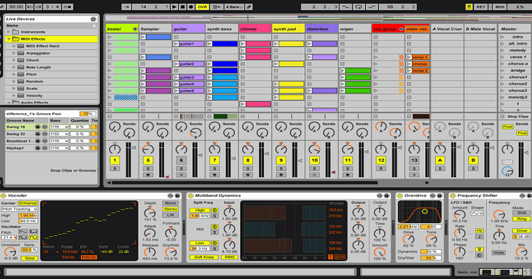ableton live serial numbers