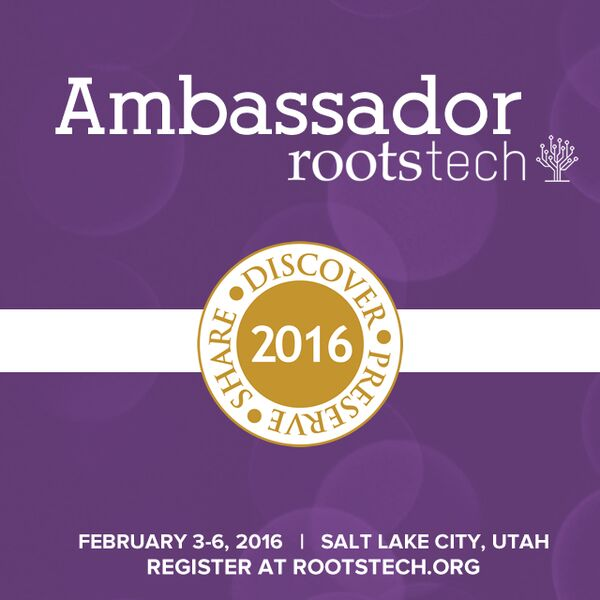 Rootstech Ambassador 2016
