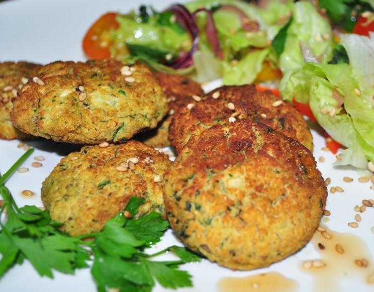 Falafel de Forno (vegana)