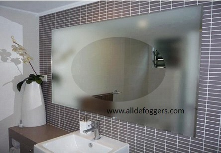 For Permanent Mist Free Mirrors Simply Stick One Of Our Self Adhesive Heating Pads To The Backlit Bathroom Mirror Connected Lighting Circuit