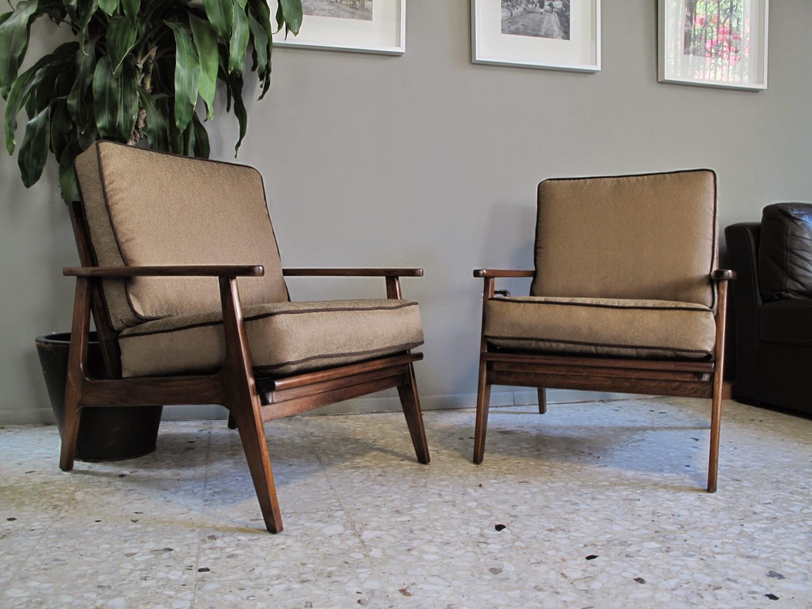 Aera60 mobiliario sillones estilo danes 50s 60s circa - Sillones estilo vintage ...