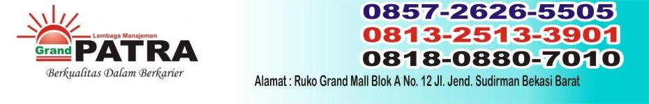 Kursus di GRAND PATRA Bekasi 0857 2626 5505