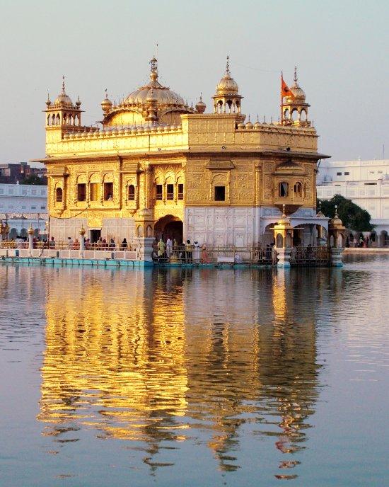 Harmandir Sahib in India (The Golden Temple)
