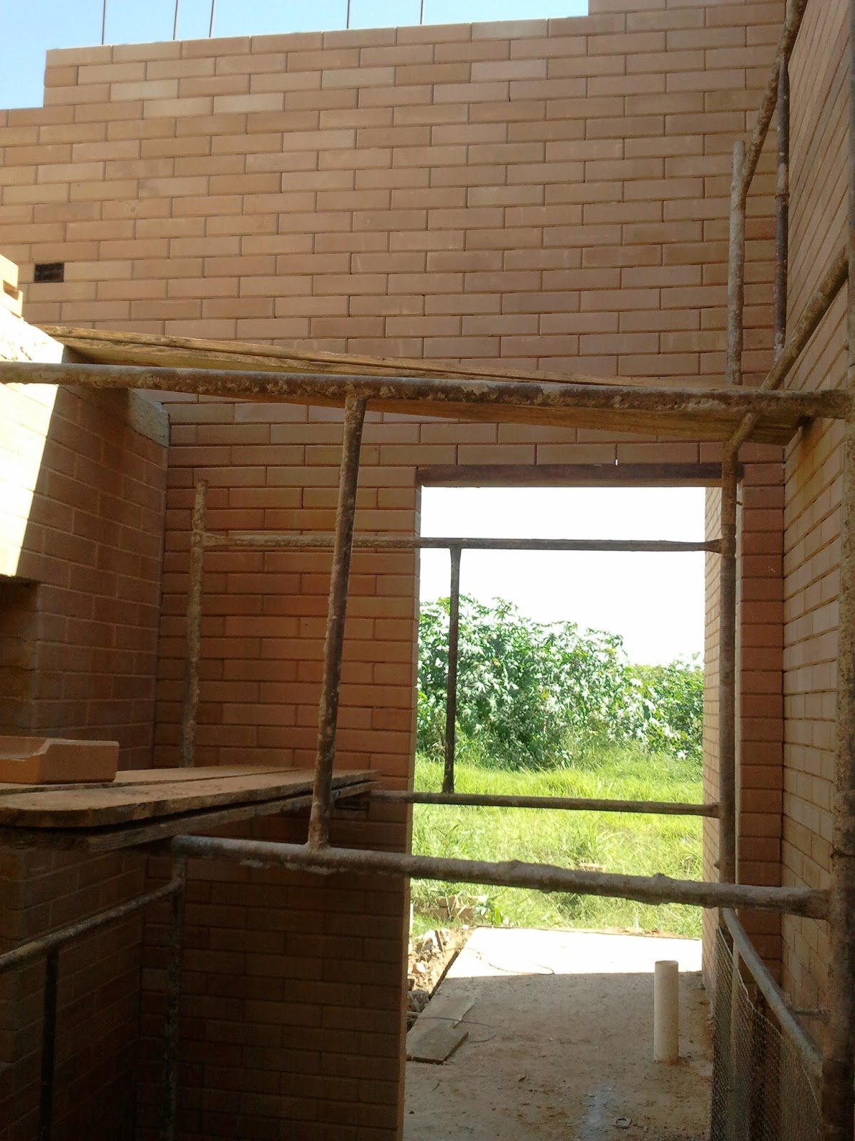 Construindo e Ampliando com Tijolo Solo cimento / Ecológico: Mezanino #8D9C2F 1200 1600