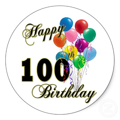 100th Birthday Quotes on Free 100 Days Of School Clipart Happy 100th Day