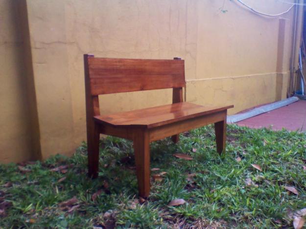 Actividades escolares bancos rusticos de madera muy for Ofertas de empleo banco exterior