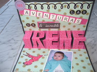 Libro pop-up letras en relieve Tutorial DIY / pop-up book / livre pop-up