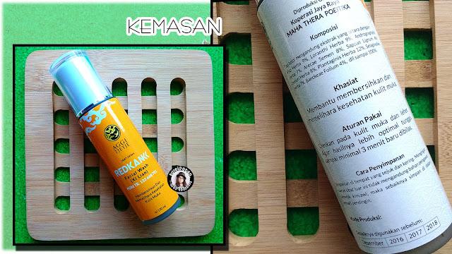 REDKANK facial wash - Xi Lian