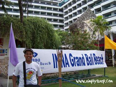 During in sanur Bali, Oktober 2010