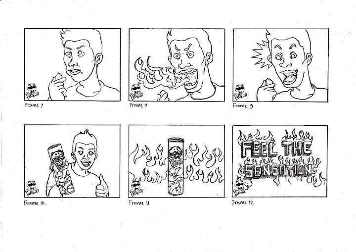 Daily Cartoon Art Amp Illustration Story Board Pringles