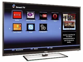 Smart TV LED 42 Philco PH42E53SG Full HD 1080p