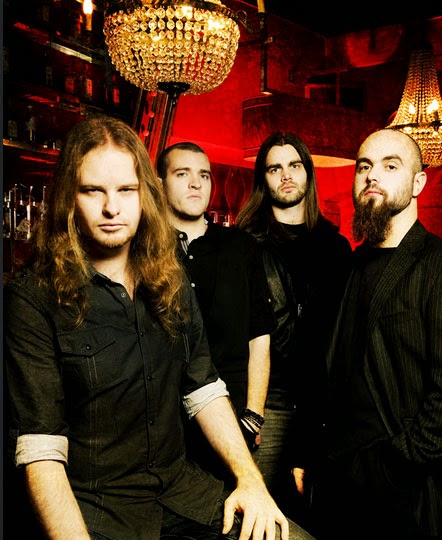 XERATH: Progressive metal band promo photo 2014