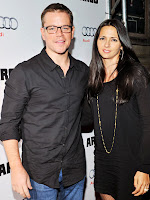 Matt Damon and wife Luciana Barroso