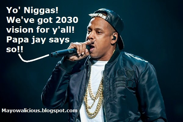 Jay Z Says By 2030, He Wants To End Poverty In The World! Clap For Beyonce's Husband! Give Him A Standing Ovation & Let Him Know He's A Great Guy With Another Round Of Applause! But, Let Him Know That His Attitude Towards Kanye's Family Is BAD! Point Blank!!