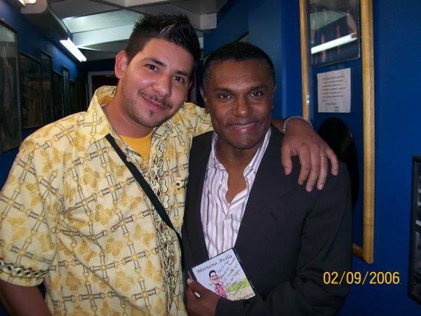 Junto a José Alberto El Canario