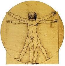 Что значит во Вселенной быть человеком? 01+-+leonardos-man-in-a-circle1