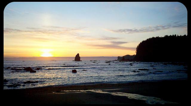 sunset la push