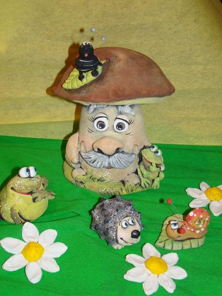 Поделка гриб своими руками для детского сада