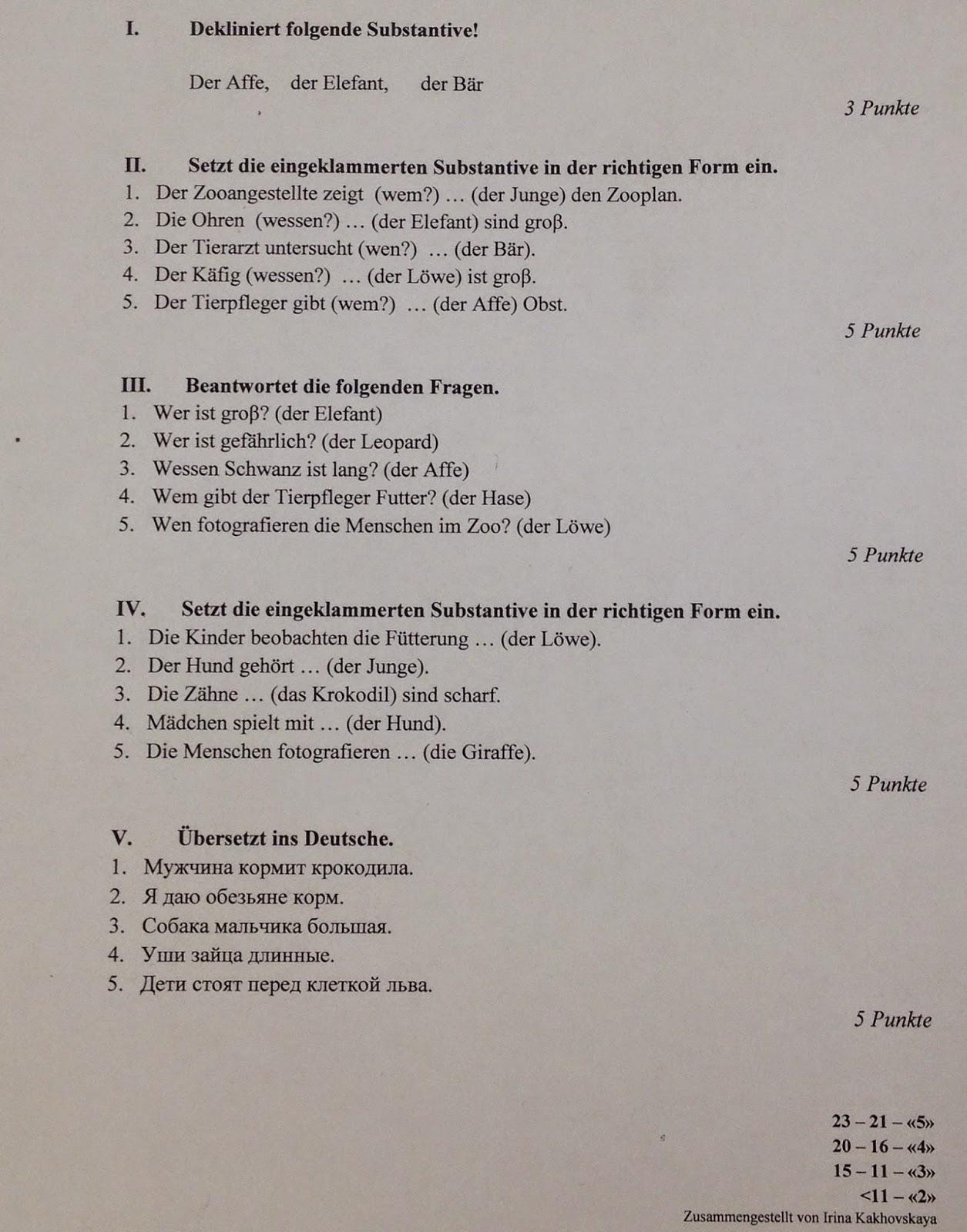 Briefe Schreiben Klassenarbeit 5 Klasse : Deutsch mit anna klasse klassenarbeit quot die