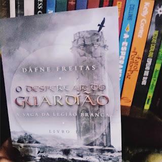 Livro O Despertar do Guardião - Dáfne Freitas