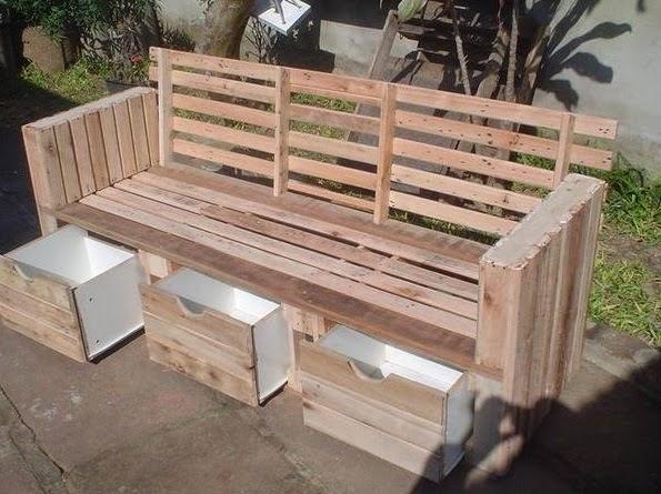Palets y Reciclaje, Muebles e Ideas para Reutilizar Madera