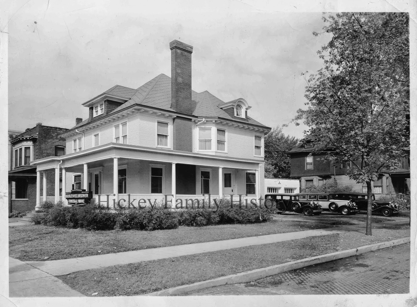 south bend indiana hickey welsheimer funeral home 1937