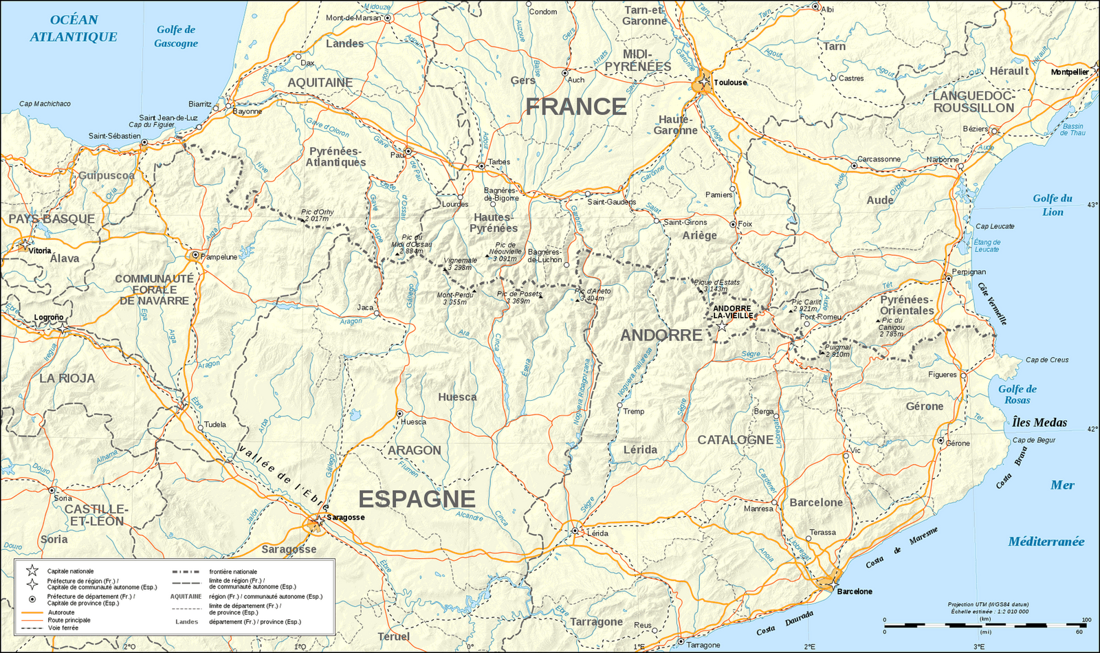 http mapsof net uploads static maps pyrenees map shaded relief fr png